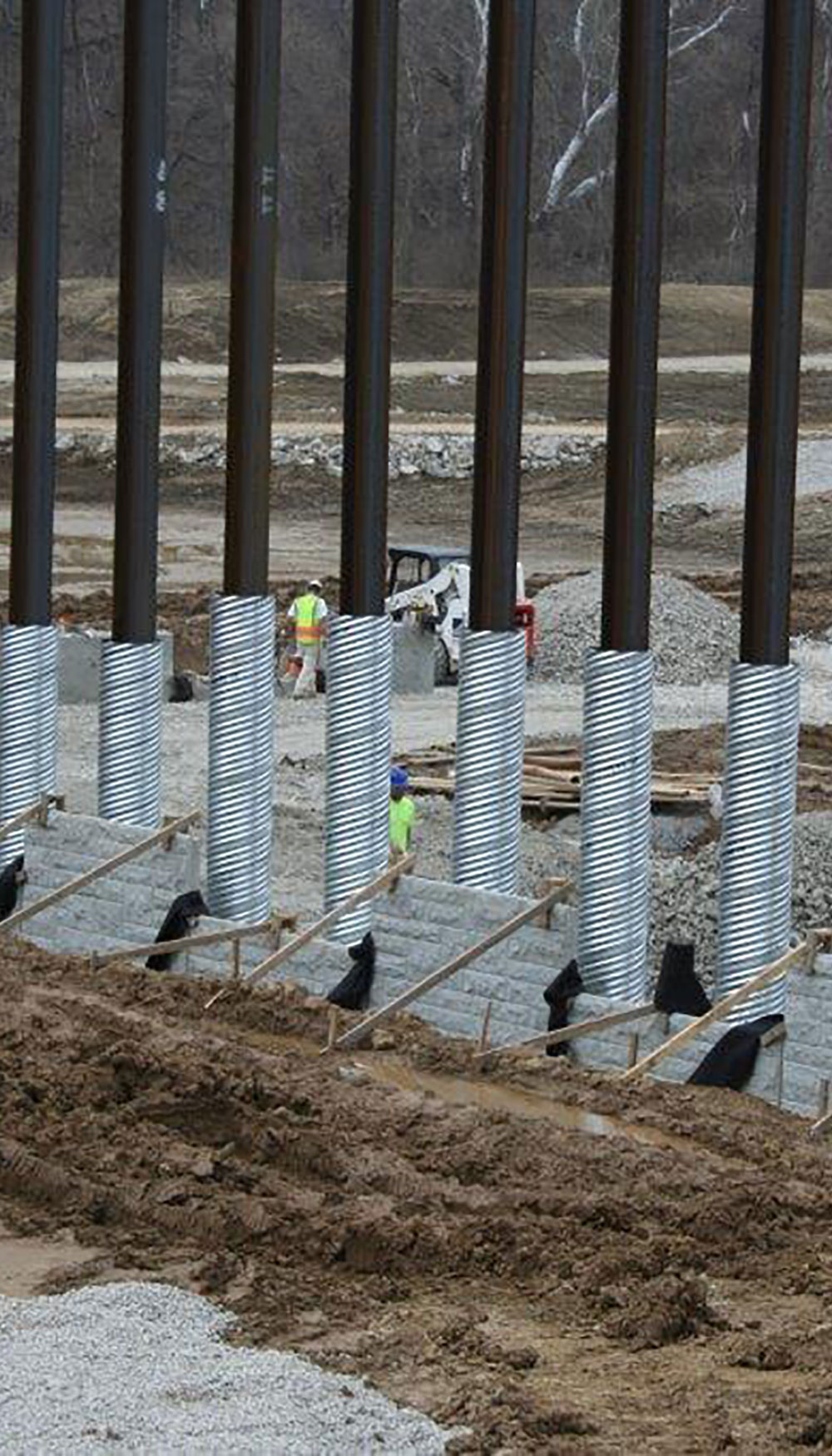 Stabilized Earth Walls Construction : Rosch company mse walls