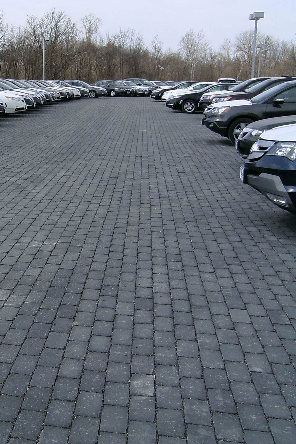 Permeable Unit Paving